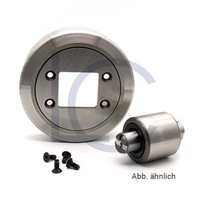 Radiallager für Gabelträgerrolle JUM60149.KIT 90x148.9x45 mm