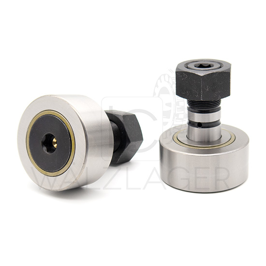 Kurvenrolle NUKR72-NMT INA 24x72x80 mm