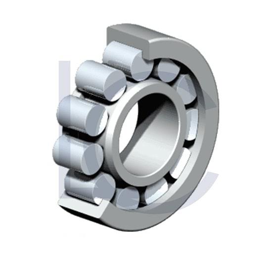 Zylinderrollenlager NJ208-E-TVP3-C3 NKE 40x80x18 mm