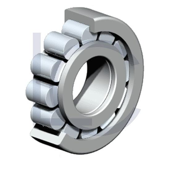 Zylinderrollenlager NUP208-E-TVP3-C3 NKE 40x80x18 mm