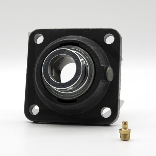 Flanschlagergehäuseeinheit RCJ25-XL-N INA d=25 mm