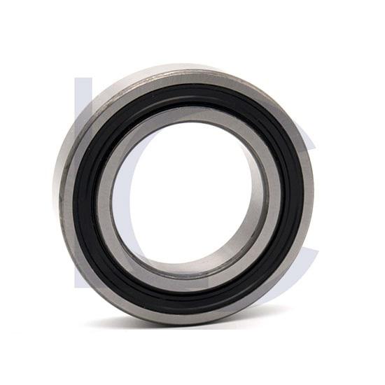 Rillenkugellager 6211-2RS2 NKE 55x100x21 mm