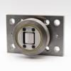 Kombirolle MR0005.M1PMR05 D= 88.9 mm verschweißt mit Platte 120x120x20 mm